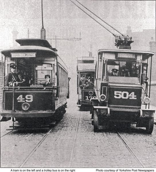 Tram and trolley bus